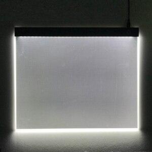 Image 5 - CHIPAL tablette graphique numérique A3, avec boîte à lumière LED 000 caractères, carte de copie, peinture artistique, écriture, Animation, croquis