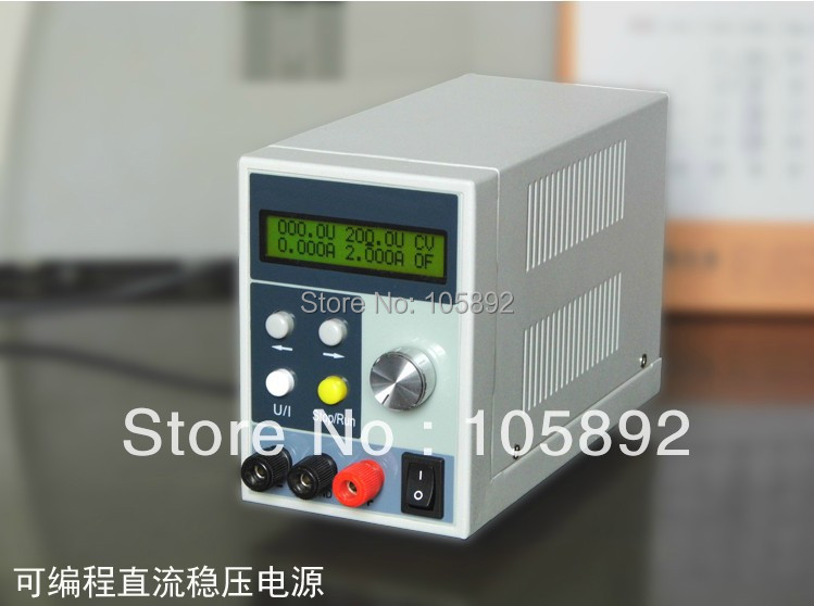 New products Laboratory Super Precision Programmable Variable Adjustable DC power supply 4Ps LCD Display 0-120V output voltage