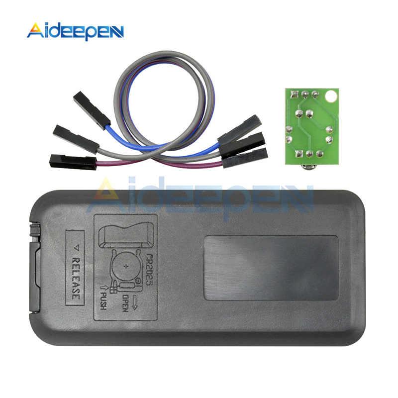 1 conjunto hx1838 infravermelho ir módulo receptor de controle remoto sem fio diy kits para arduino raspberry pi