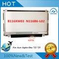 """Бесплатная доставка 11.6 """"Ноутбук светодиодный дисплей ЖК-Экранов B116XW03 V.2 N116BGE-L41 N116BGE-L42 Для Acer Aspire One 722 725"""