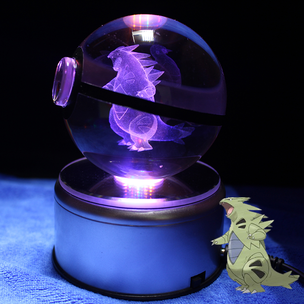Kristall Pokeball Transparente Glaskugel Cartoon Tiere Design Innen ...