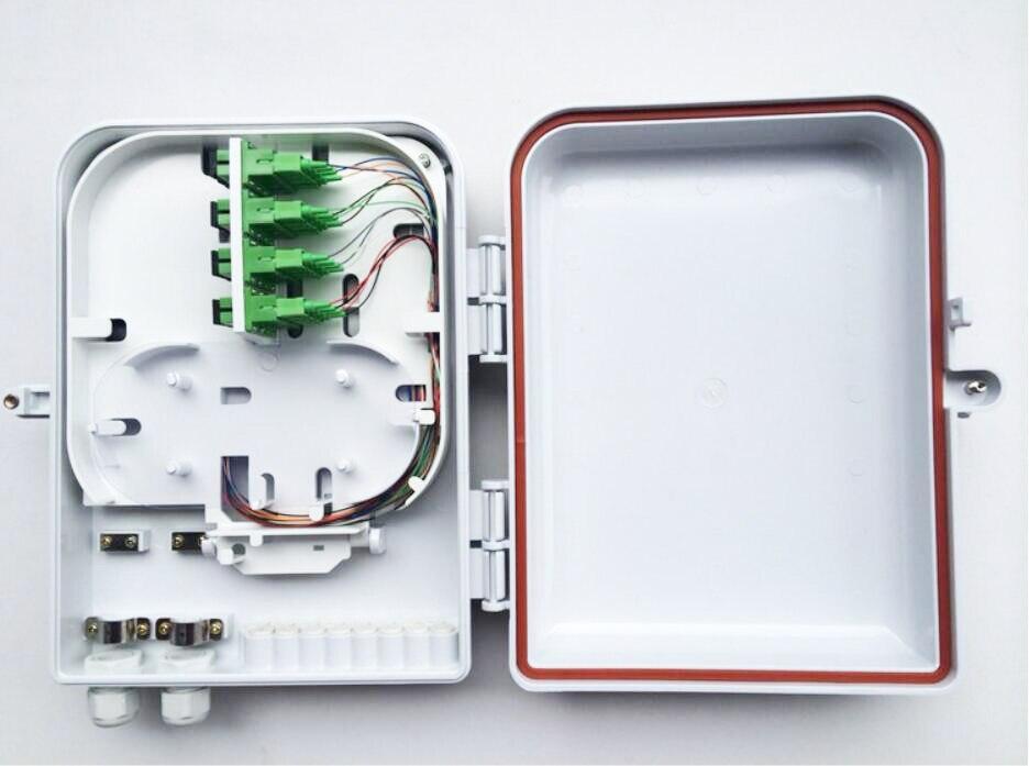 imágenes para 16 Núcleo Exterior FTTH Divisor Cajas de Distribución 16 núcleo de fibra Óptica caja de empalme de 16 núcleos De Cable De Fibra Caja de Distribución