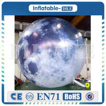 Mid-Autumn Festival Giant Inflatable Moon Balloon With High Resolution Global Balloon Printed Led For Events