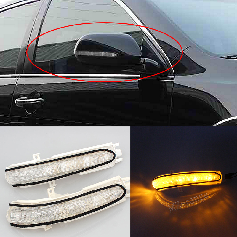 For Honda Accord 2003 2004 2005 2006 2007 Car Rearview Mirror Side Turn Signal Light Car Rearview Signal Light Lamp