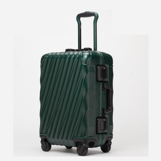 TRAVEL TALE aluminum frame retro cabin trolley baggage spinner ...