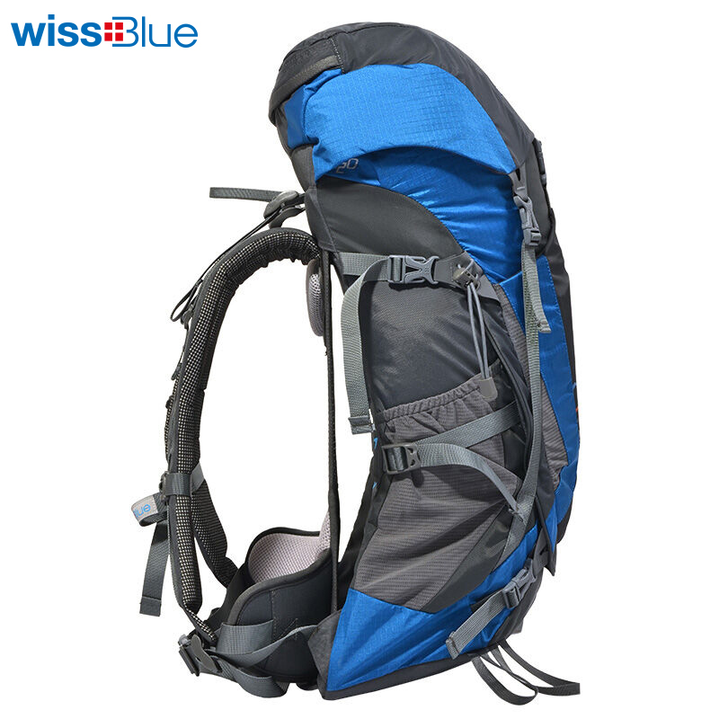 WissBlue Professional Climbing Backpack Camping Outdoor Backpack CR Carrying System Hiking Gear Trekking Travel Sport Backpack