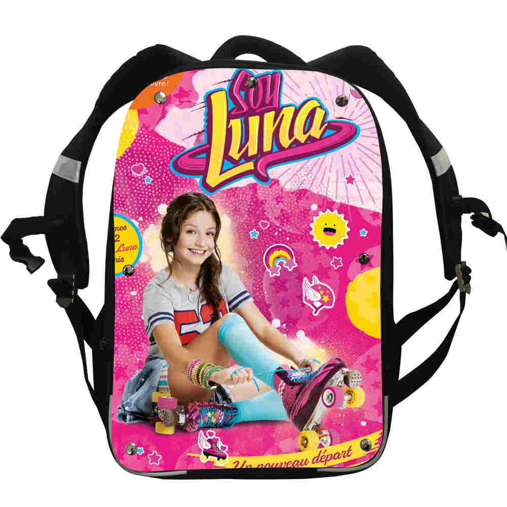 c61760922e0 Soy Luna Backpack Animal Anime Customized For Women Men Boys Girls Teenager  School Bags Mochila Box