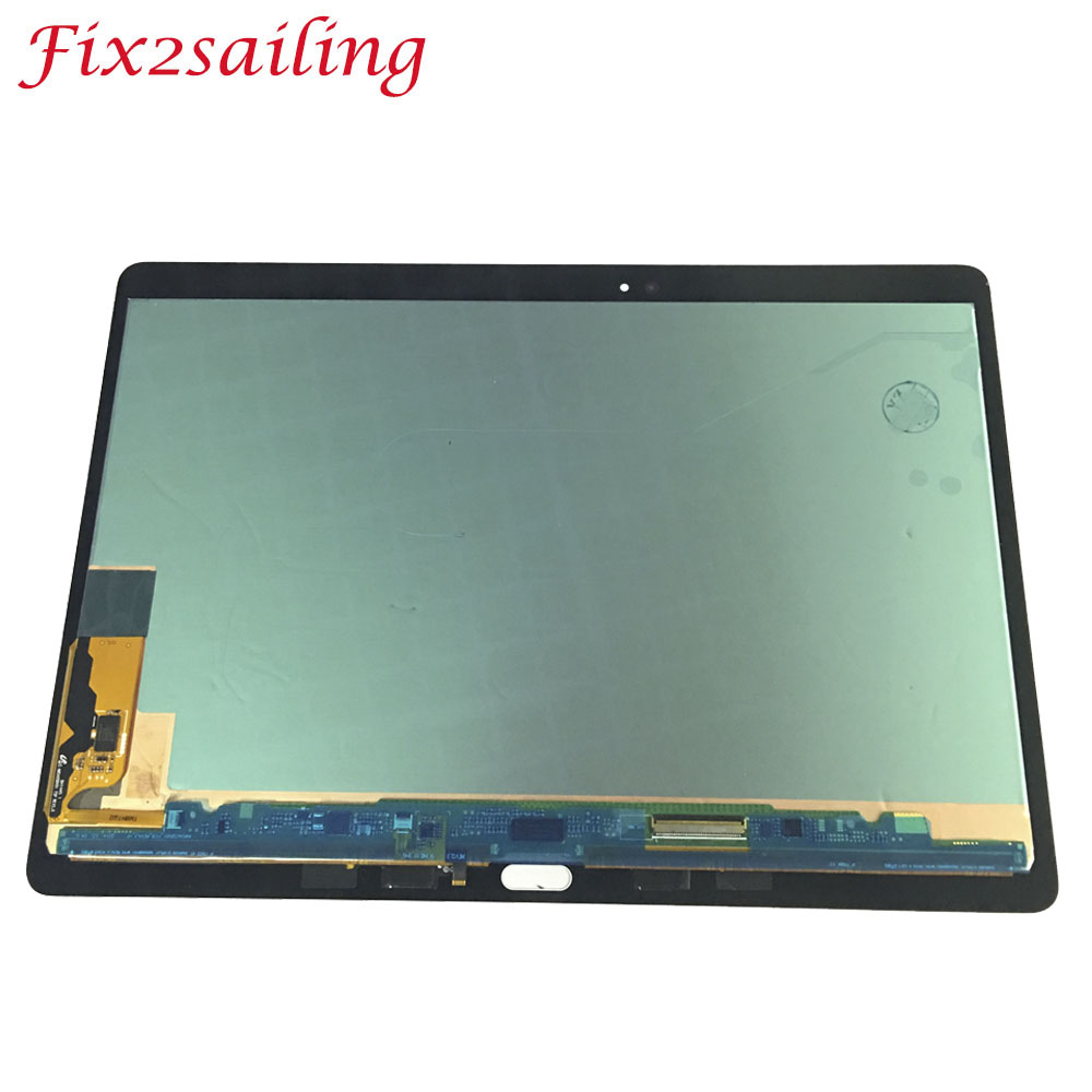 Original Tablet Screen For Samsung GALAXY Tab S T800 T805 SM-T800 SM-T805 LCD Display Touch Screen  Digitizer Sensors Assembly Original Tablet Screen For Samsung GALAXY Tab S T800 T805 SM-T800 SM-T805 LCD Display Touch Screen  Digitizer Sensors Assembly