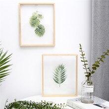 نقاشی اکریلیک شفاف INS قابل تعویض با قاب چوبی خلاق نقاشی مدرن حلق آویز برای اتاق نشیمن یا دکو اتاق خواب