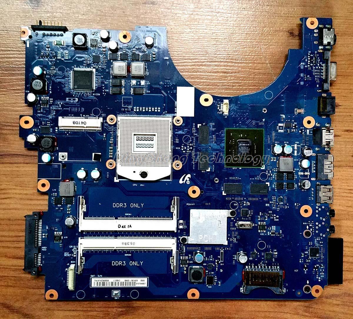 Шели материнская плата для ноутбука Samsung R780 ba92-06142a DDR3-Встроенная видеокарта 100% полностью протестирована