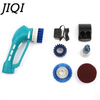 New Rechargeable Handheld Electric Washing Machine Cleaning Brush Small Tile Tub Washing Brush Car Cleaning Brush
