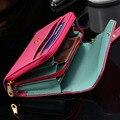 Kisscasemini bolsa case para iphone 4 4s 5 5s 5c 6 6 s 7 plus telefone smat case cartão carteira capa bolsa saco envelope coroa coldre