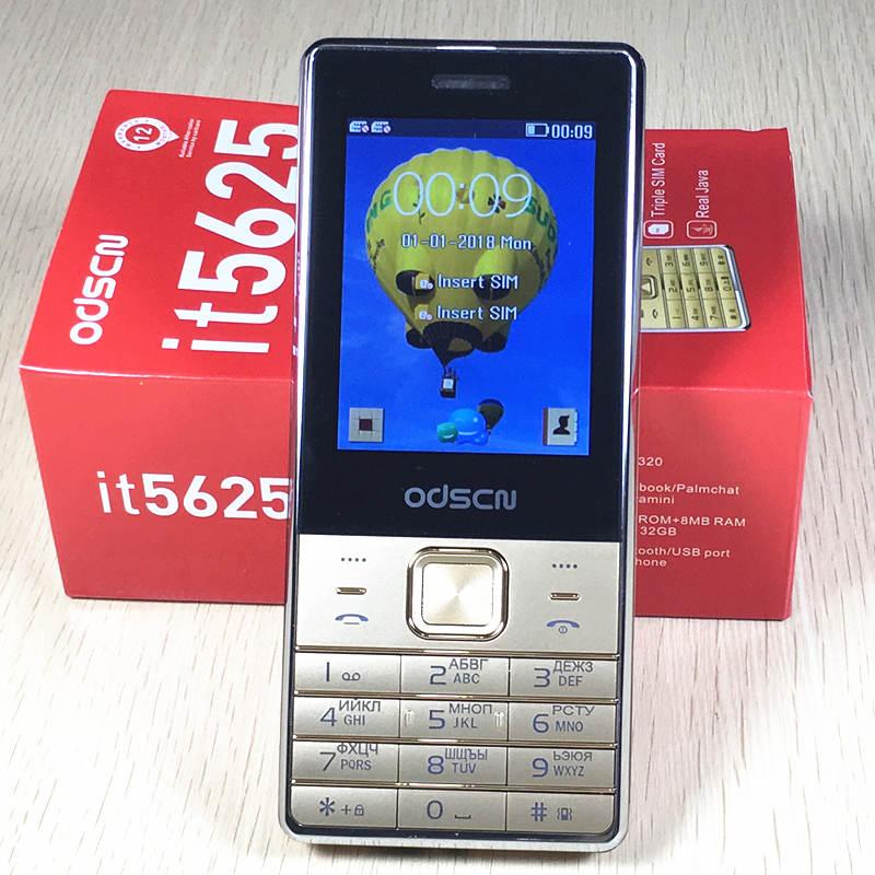 Double sim it5625 téléphone Russe clavier clé 2.8 écran gsm téléphones mobile téléphone pas cher Téléphone chine Téléphones Cellulaires d'origine ODSCN