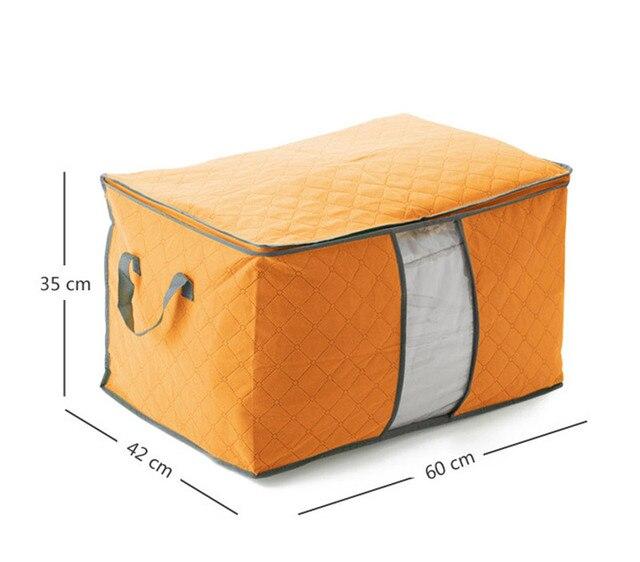 Storage Organizer Bag Clothes Quilt Foldable Storage Wardrobe Multi-purpose Pouch Bag Organize 4