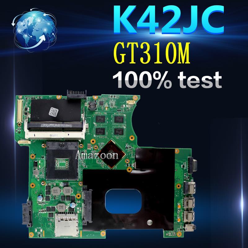 Amazoon  K42JC Laptop motherboard for ASUS K42JC K42J A42J K42J X42j A40J K42 Test original mainboard GT310MAmazoon  K42JC Laptop motherboard for ASUS K42JC K42J A42J K42J X42j A40J K42 Test original mainboard GT310M