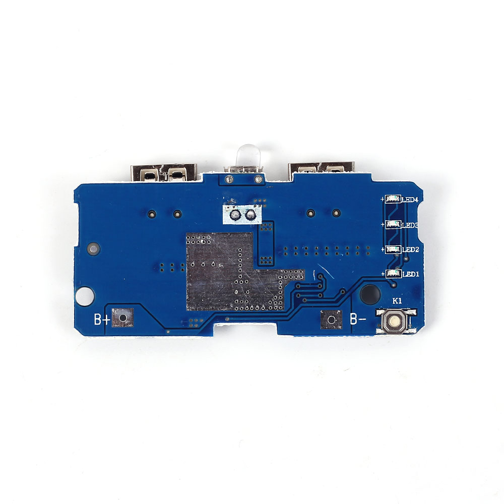5V 2A Module de chargeur de batterie d'alimentation carte de charge Module d'alimentation amplifié 2A double sortie USB 1A entrée