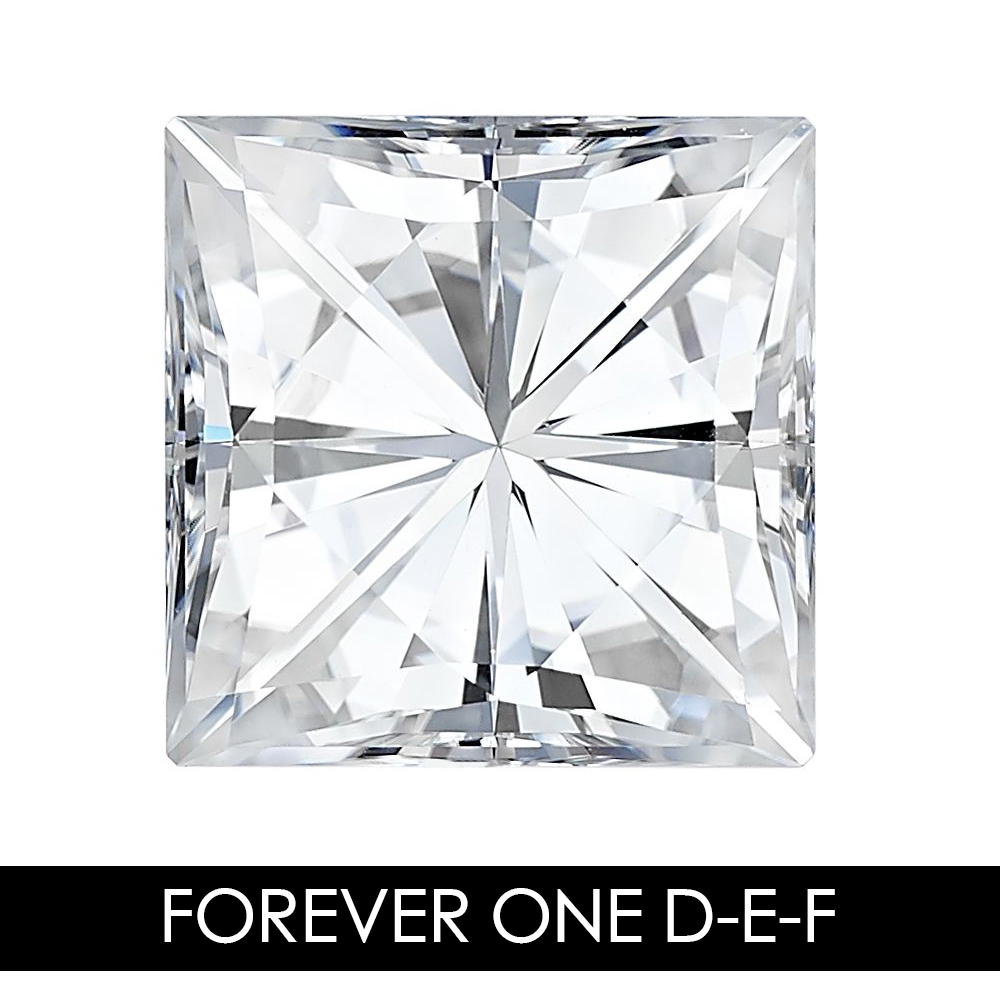 8.0mm 3.1 CARAT 66 Facets SQUARE  Moissanites Loose Gemstone G-H-I Color Charles & Colvard USA Created Moissanites REAL8.0mm 3.1 CARAT 66 Facets SQUARE  Moissanites Loose Gemstone G-H-I Color Charles & Colvard USA Created Moissanites REAL
