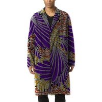 Africa Pattern Style Print Trench Casual African Clothes Man Dashiki Dust Coat Africa Men Jacke Clothing Customized