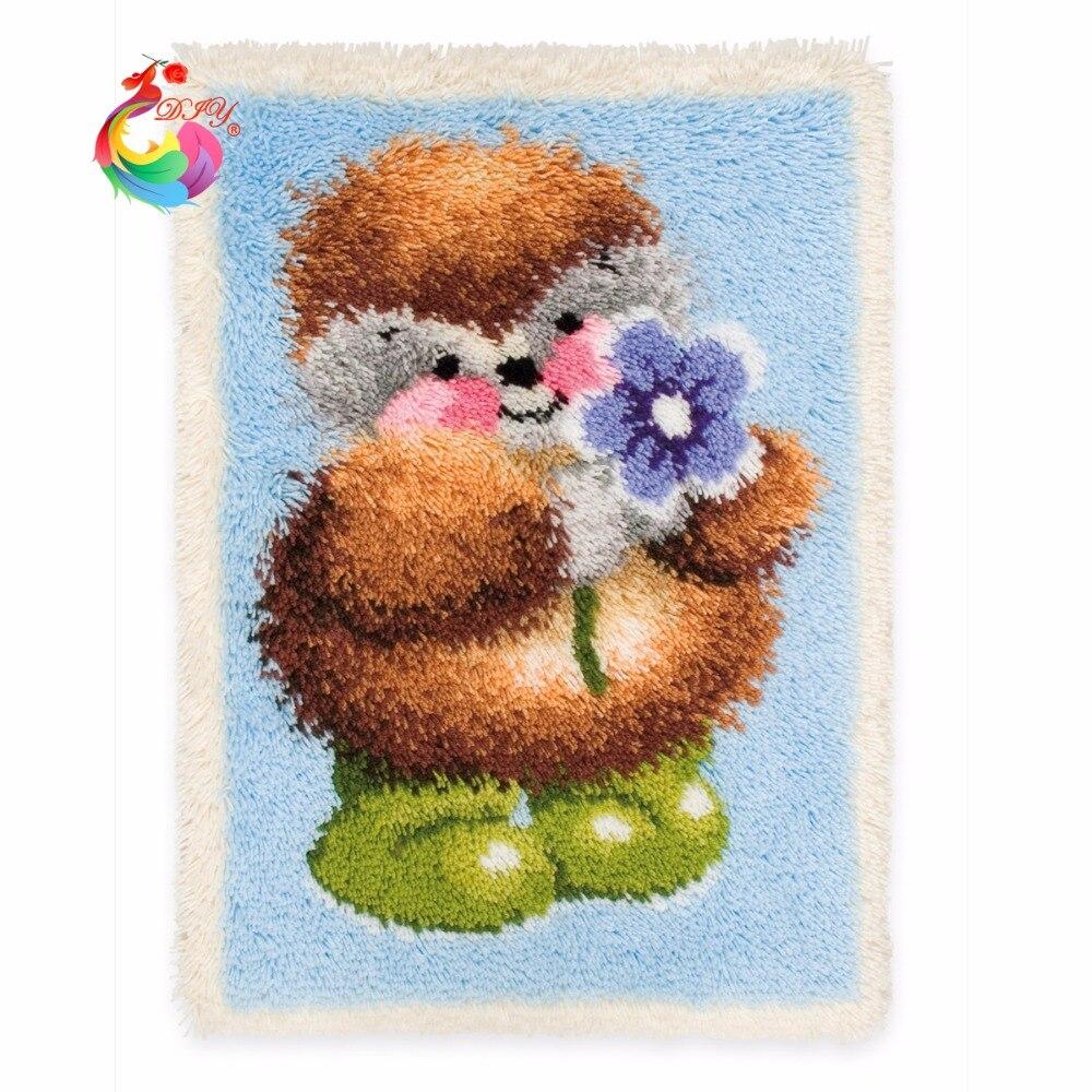 kruissteek garen borduurpakketten klink haak kleed kits tapijten en - Kunsten, ambachten en naaien