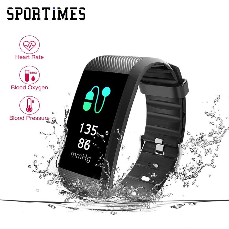 OriginaR11 Bracciali e Braccialetti Smart Monitor di Frequenza Cardiaca Braccialetto Intelligente Inseguitore di Fitness Smartband Pedometro Impermeabile per il Telefono Bluetooth