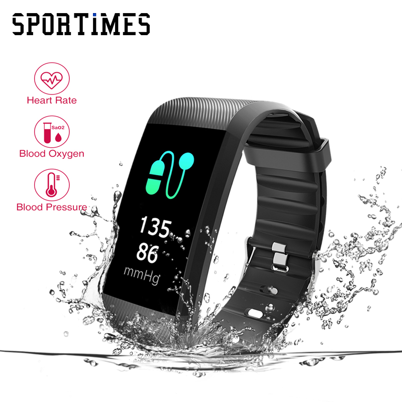 OriginaR11 Smart Armbänder Herz Rate Monitor Smart Armband Fitness Tracker Smartband Wasserdichte Schrittzähler für Telefon Bluetooth