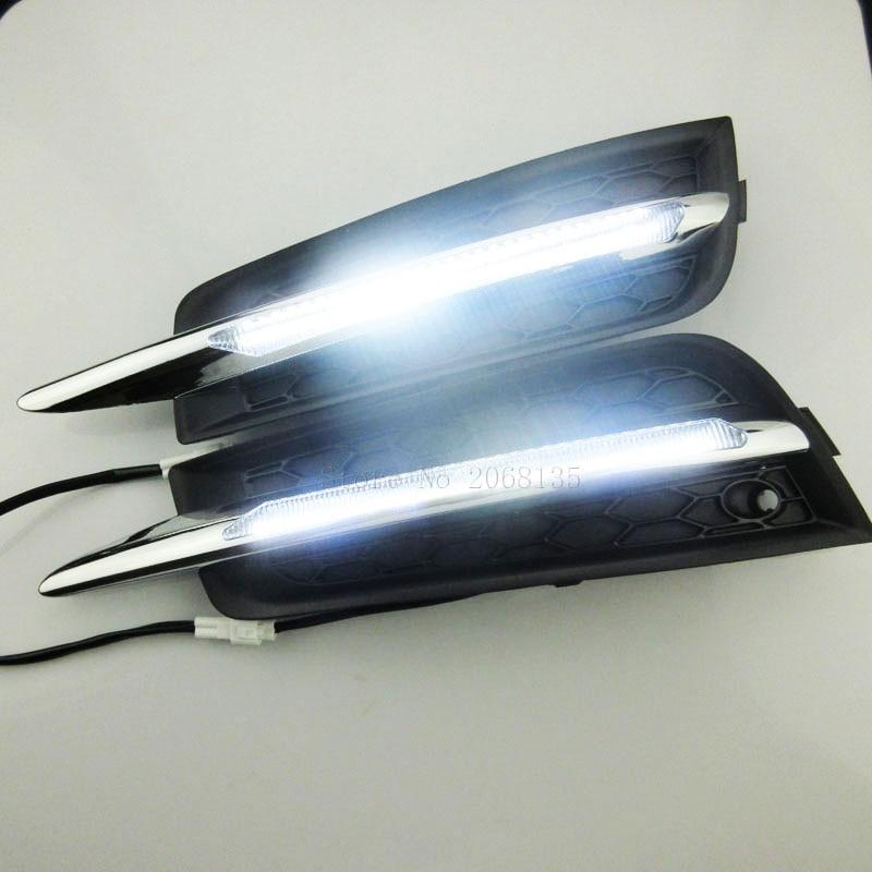2PCS High Quality Daytime Running Light Driving External Light Source Car Fog Lamp For Chevrolet Cruze