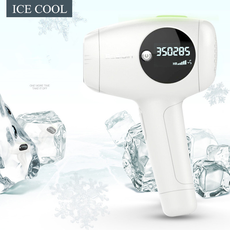 360000 Pulse Photon WPL Laser Epilator Depilador LCD display Laser Permanent Hair Removal Skin Rejuvenation Hair Removal Machine