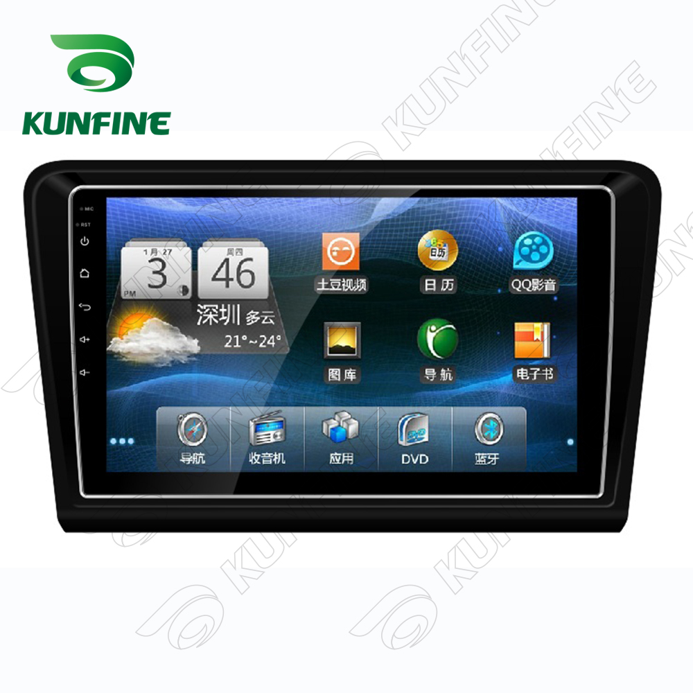 Quad Core 1024*600 Android 5.1 Car DVD GPS Navigation Player Deckless Car Stereo for VW BORA 2013-2015 Radio Bluetooth
