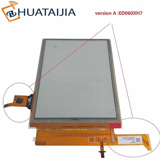 6inch new lcd with touch screen WITH lcd backlight For PocketBook Touch Lux 3 626 Plus 626+ 2GEN PB626(2)-D-WW lcd DISPLAY