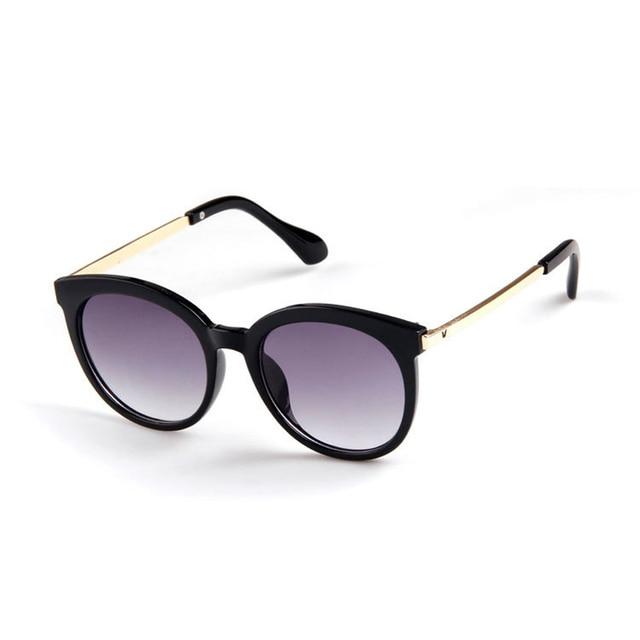 8a2984e3a 2017 أزياء الاطفال سبيكة الأطفال بنين بنات uv400 خمر جولة النظارات الشمسية  uv400 الشمس الظل نظارات