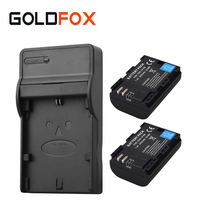 2x 2650mAh LP E6 Battery Charger For Canon EOS 5DS R 5D Mark II Mark III