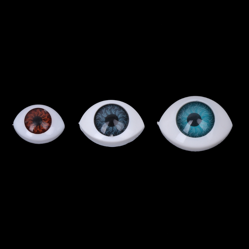 20Pcs Plastic Doll Safety Eyes For Animal Toy Puppet Making DIY Craft Accessories wiben animal hand puppet action