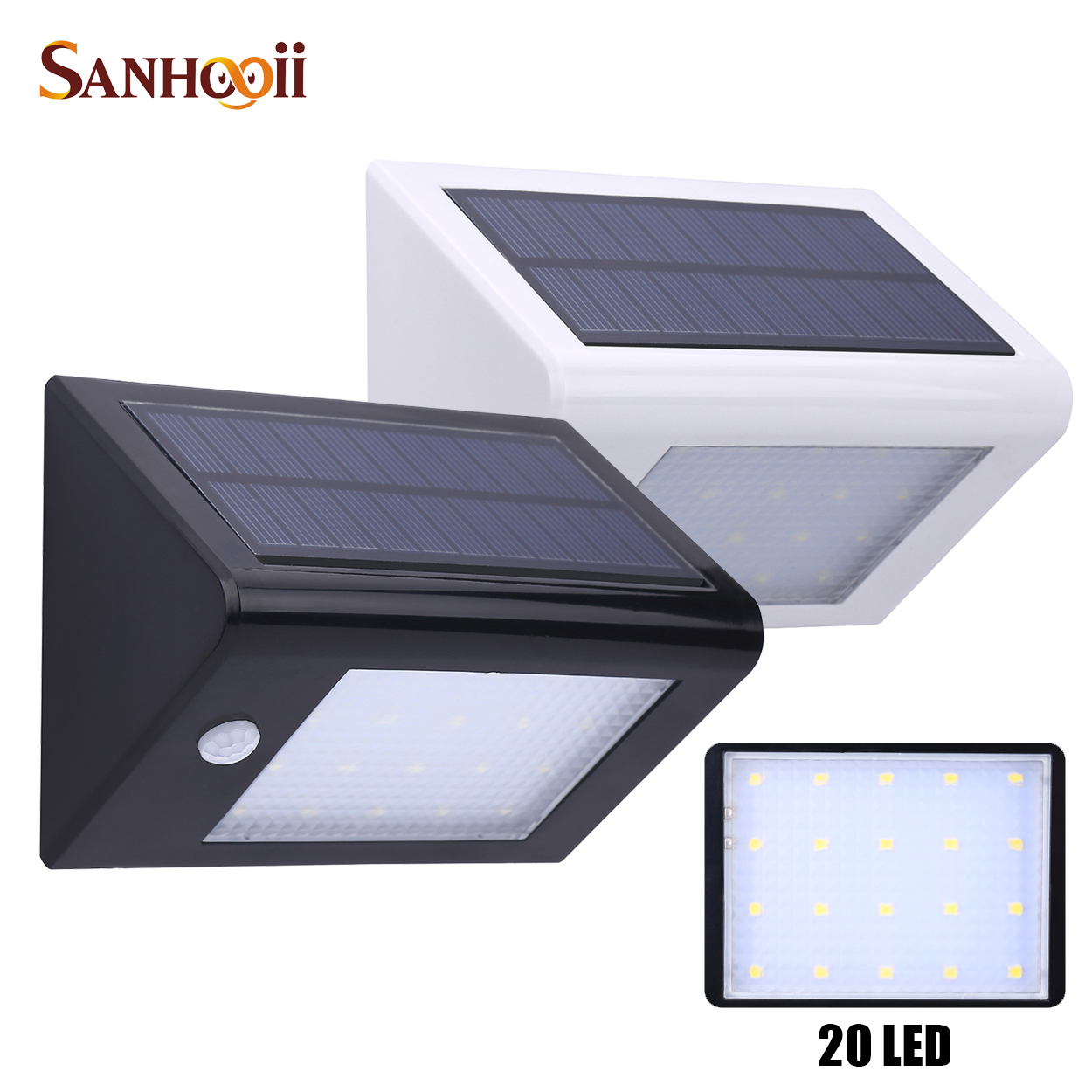 Yardbright coupon codes - Aliexpress Com Buy Elegance Outdoor Solar Wall Light Power Pir Motion Sensor Garden Yard Bright Garage Door Lamp Ip65 Waterproof 350lm 20 Led From