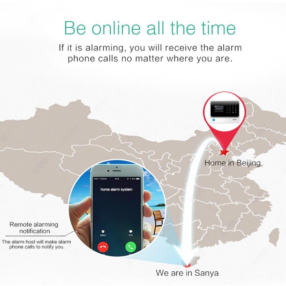 Image 3 - Towode 무선 홈 보안 WIFI GSM 3G GPRS APP 원격 제어 경보 시스템 패널 EN RU FR ES SE NL TRkit diykit kitskit gsm -