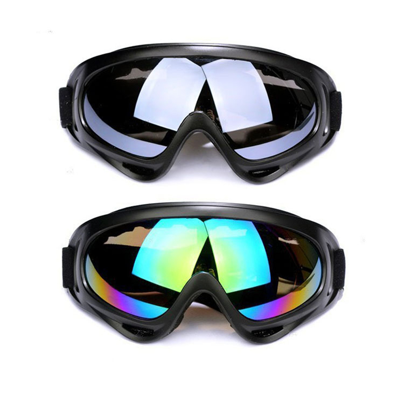 Winter Military Goggles Motorcycle Glasses UV Protection Sports Snowboard Ski Skate Goggles Outdoor Skiing Eyewear Colorful Lens