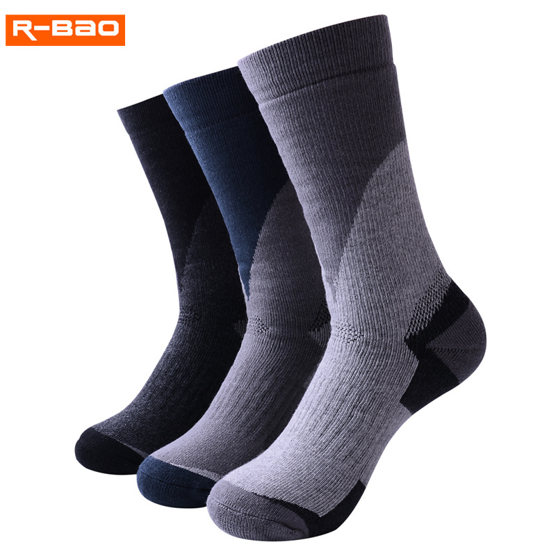 R-BAO Youth Childrens Climbing Ski Scoks 2018 New High Quality Professional Breathable Brand Outdoor Sport Sock