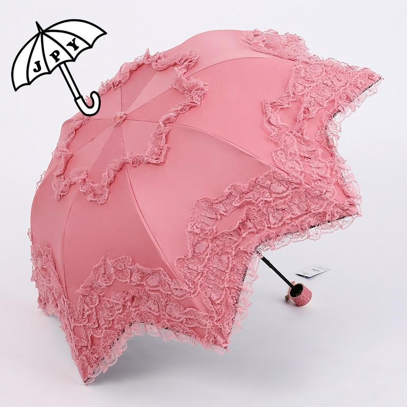 סדרת צבע ורוד מטריית גשם מטריית גשם - סחורה ביתית