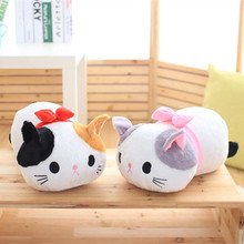 19″ Cat Plush Toy Scarf Cat Soft Stuffed Toy Cute Cat Doll Whole Sale And Retails Xmas Gift Birthday Gift
