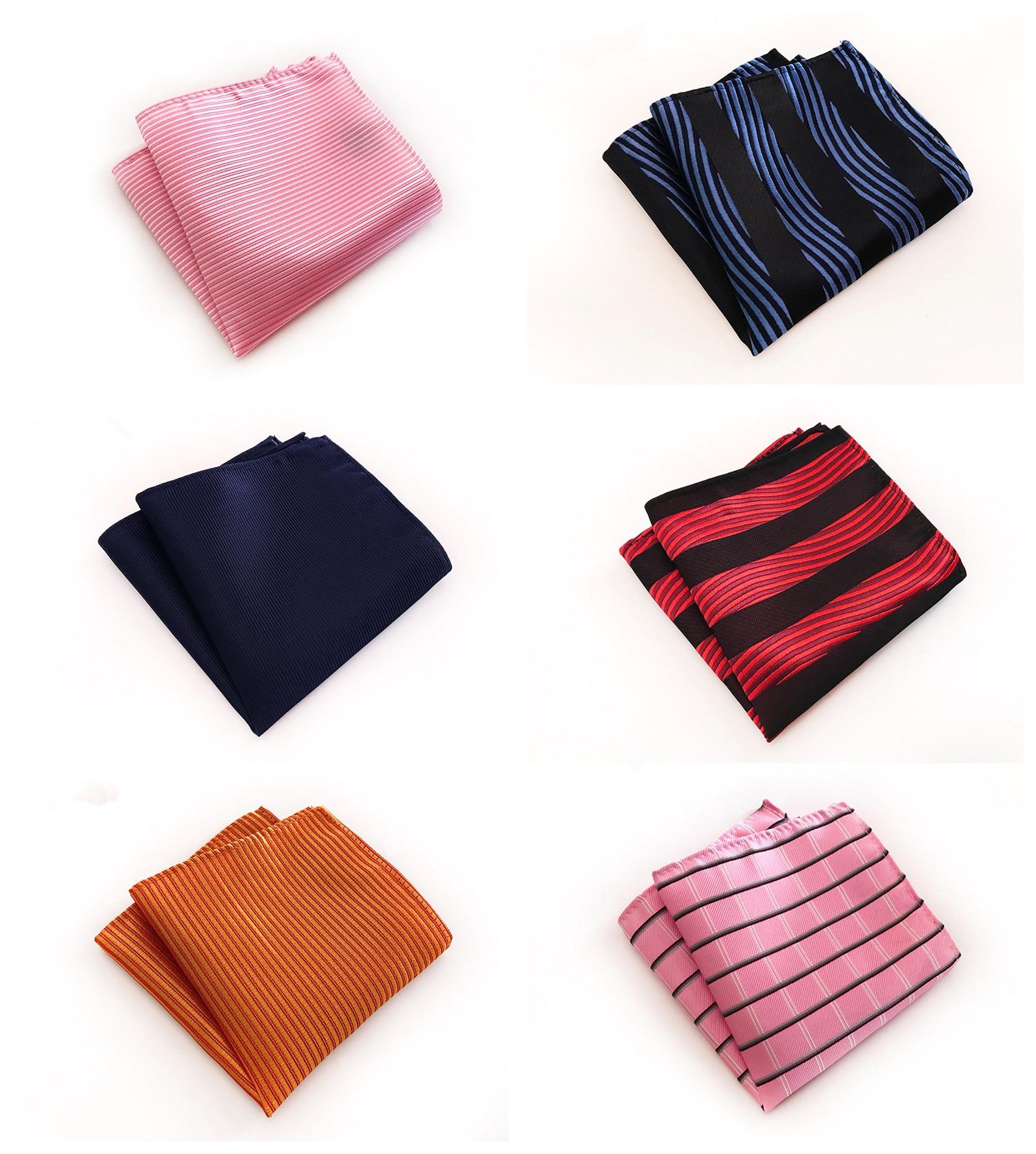 Fashion Silk Flower Business Pocket Towel Handkerchief Exclusive Original Explosion Models 25x25cm Polyester Pocket Towel