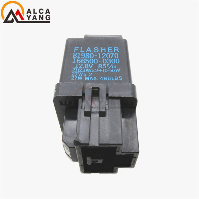 81980 12070 166500 0300 flasher relay, turn signal for toyota81980 12070 166500 0300 flasher relay, turn signal for toyota corolla mr2 camry rav4 hilux hiace lexus es300 gs300 ls400