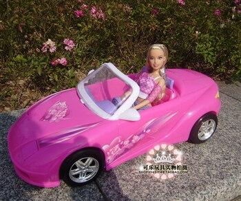 Nuevo Para Niña Barbie Casa Juguete Muñeca Coches Accesorios Deportivos Mini Jugar Coche Juego Centro De Cabriolet zMpSUV
