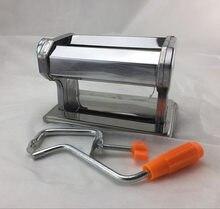 Mão de aço inoxidável dobrado ofício máquina de rolamento de polímero argila imprensa rolo artesanal ferramentas de macarrão não-elétrico diy gadgets