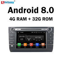 HaiSunny 4GB RAM Octa Core Android 8.0 Car DVD Navigation Multimedia Player Stereo For Suzuki Swift 2004 2008 2009 2010 Radio