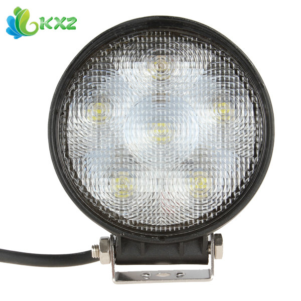 4.6 Inch 1200LM Round Offroad Car LED Work Light 12V/24V 18W High Power Driving Lamp Auto Off Road Truck ATV Boat Worklight led dot light 12v car boat auto round