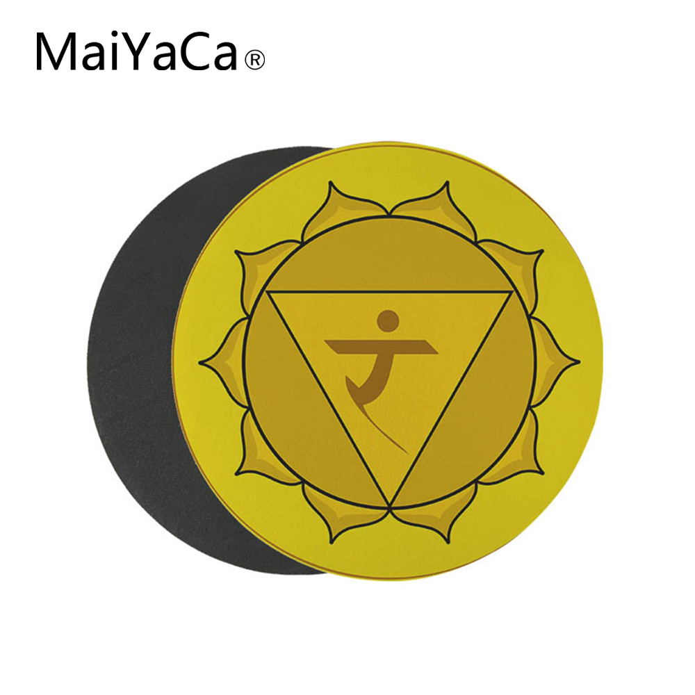 MaiCaYa Small Size 22x22 cm Round Mouse Pad Gamer Play Mats Customization Supported Computer Desk Decorate mouse pads