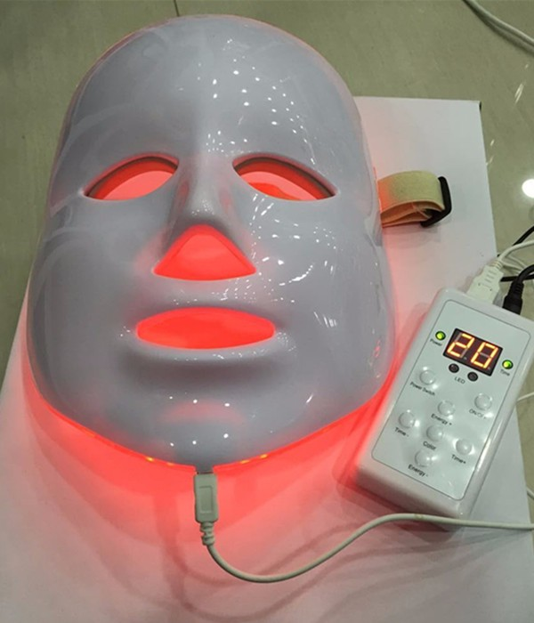 7 colors photon PDT led skin care facial mask light therapy beauty devices rechargeable pdt heating led photon bio light therapy skin care facial rejuvenation firming face beauty massager machine
