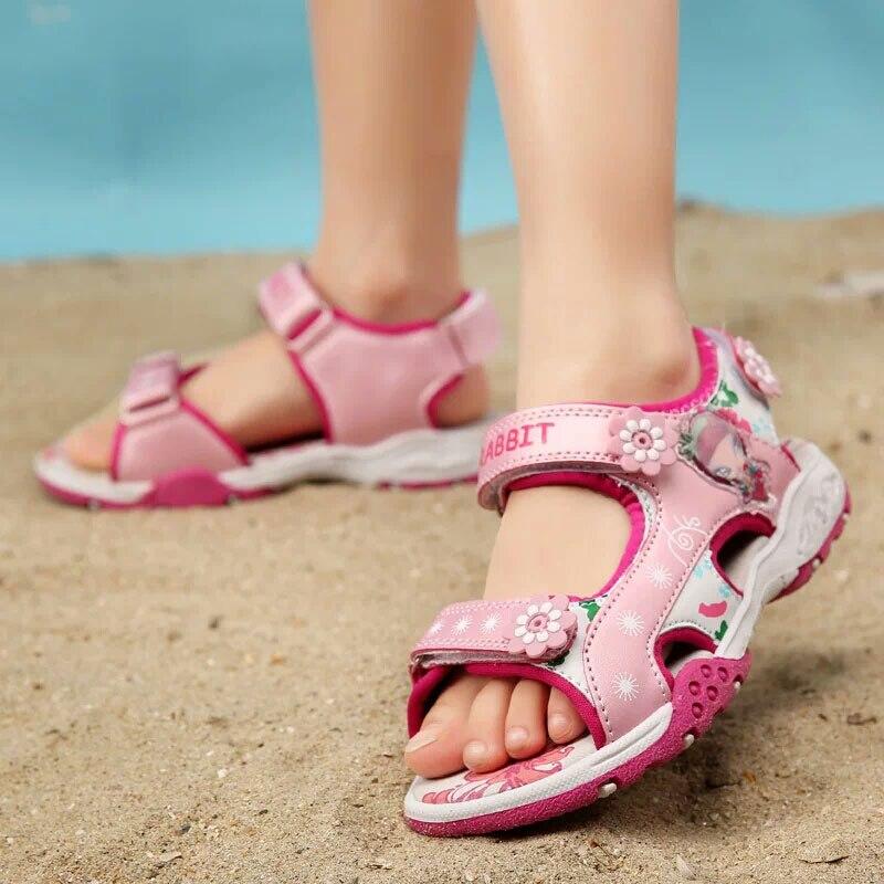 meisjes sandalen zomer nieuwe stijl kinderen schoenen meisje mode - Kinderschoenen - Foto 3