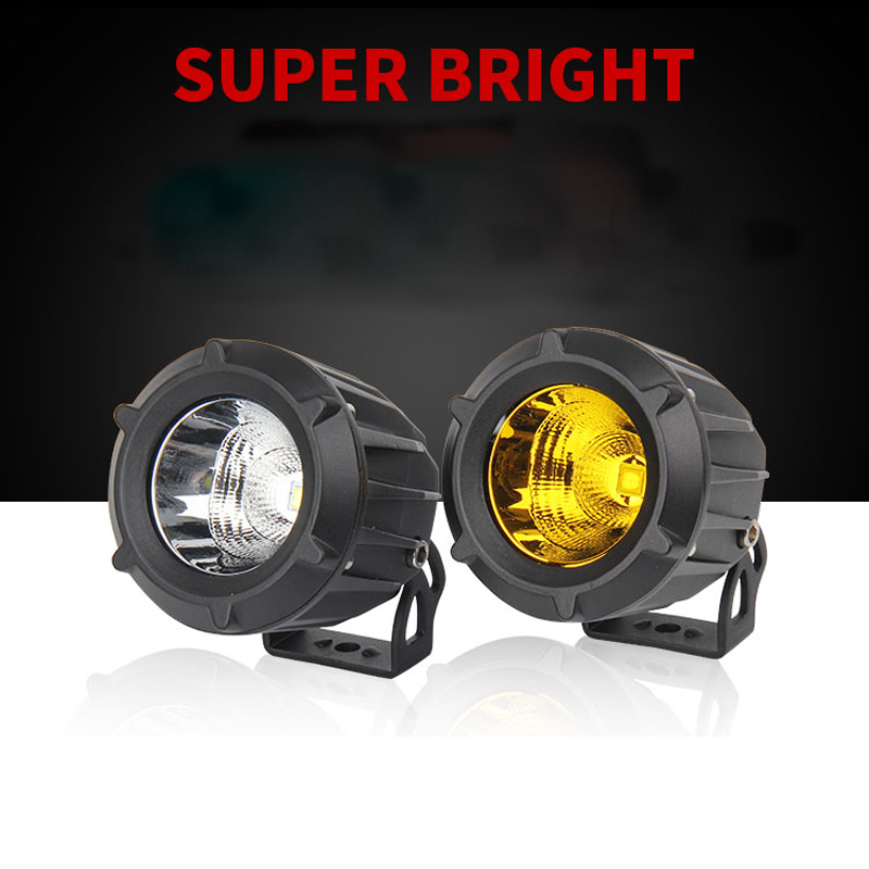 High power Round Aluminum 25W Led Spot head light Car Motorcycle Bicycle daytime driving light 4x4