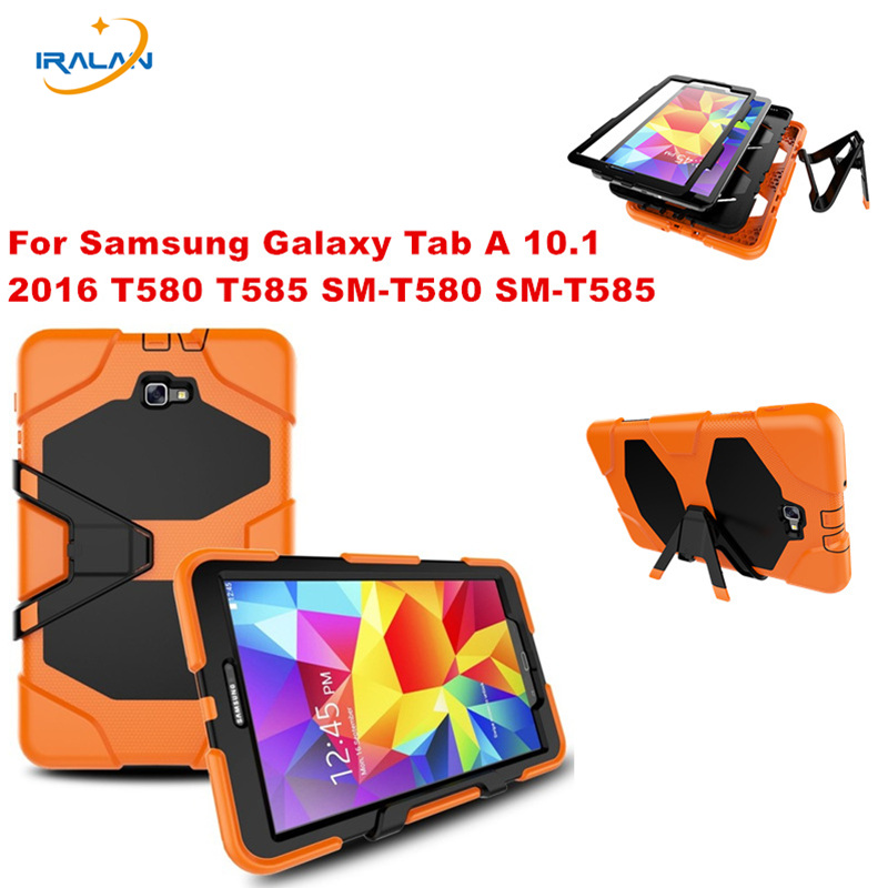 2017 New Stand Cover for Samsung Galaxy Tab A 10 1 T580 T580N Tablet Heavy Duty