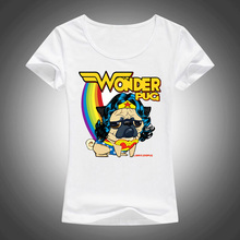 Wonder Pug Women's Short Sleeve T-Shirt